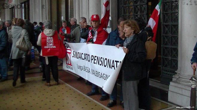 pensionati protesta
