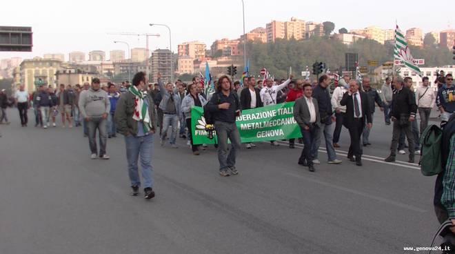 protesta manifestazione ilva