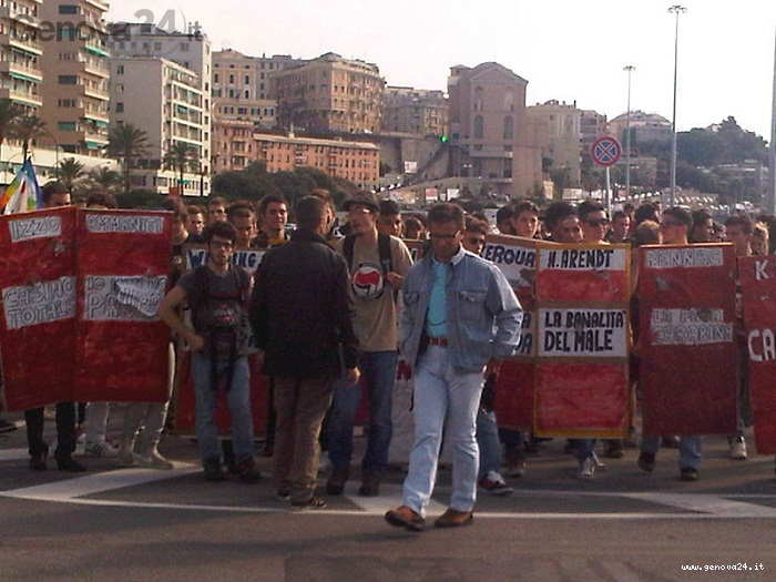 sciopero scuola, corteo studenti