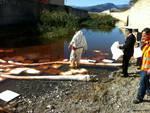 Carenda inquinamento rio Albenga