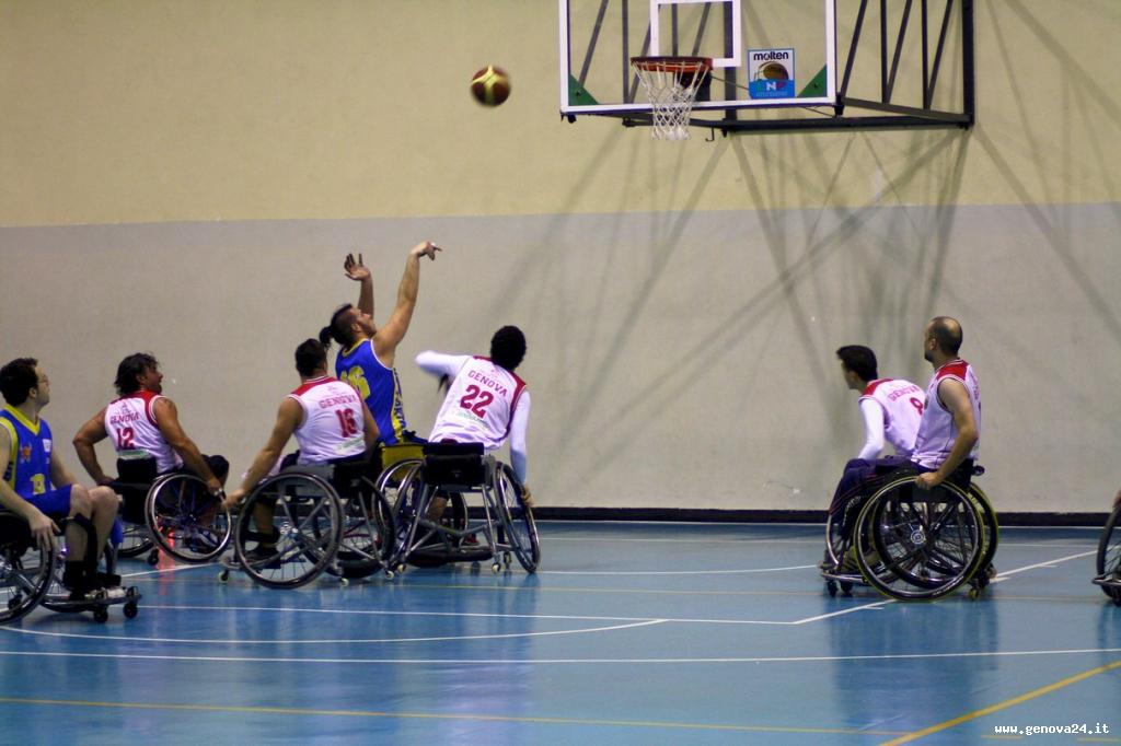 Don Bosco basket in carrozzina