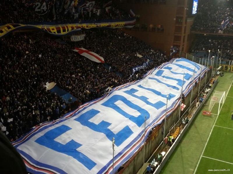 fedelissimi sampdoria derby novembre 2012