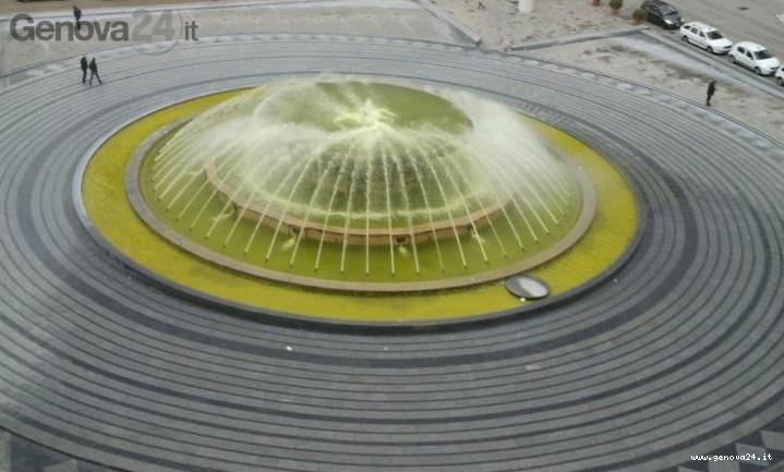 fontana gialla