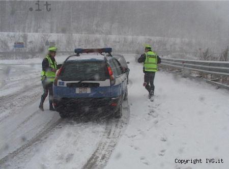 neve polizia stradale
