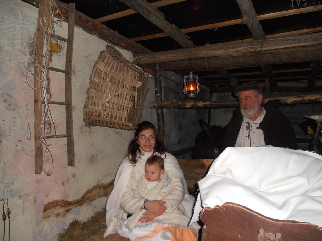 Il Presepe vivente e il villaggio di Babbo Natale: suggestioni alla