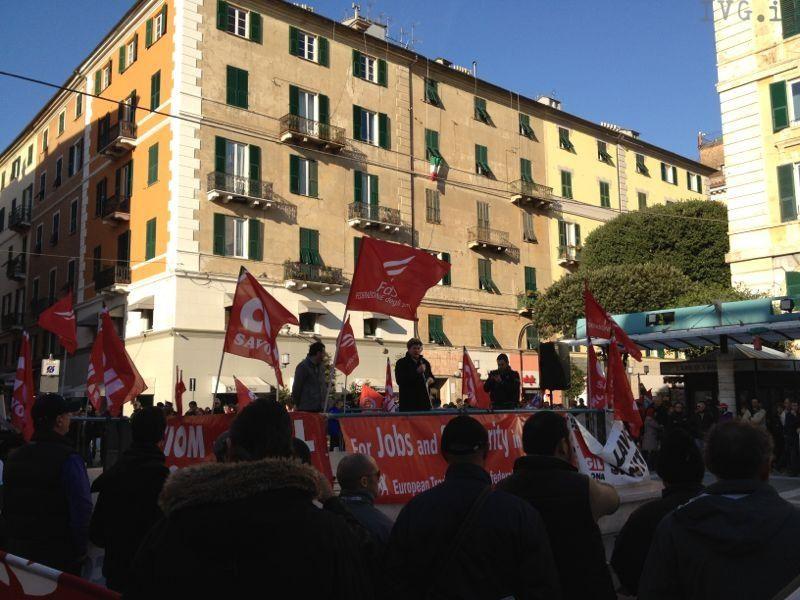 sciopero cgil 14 novembre