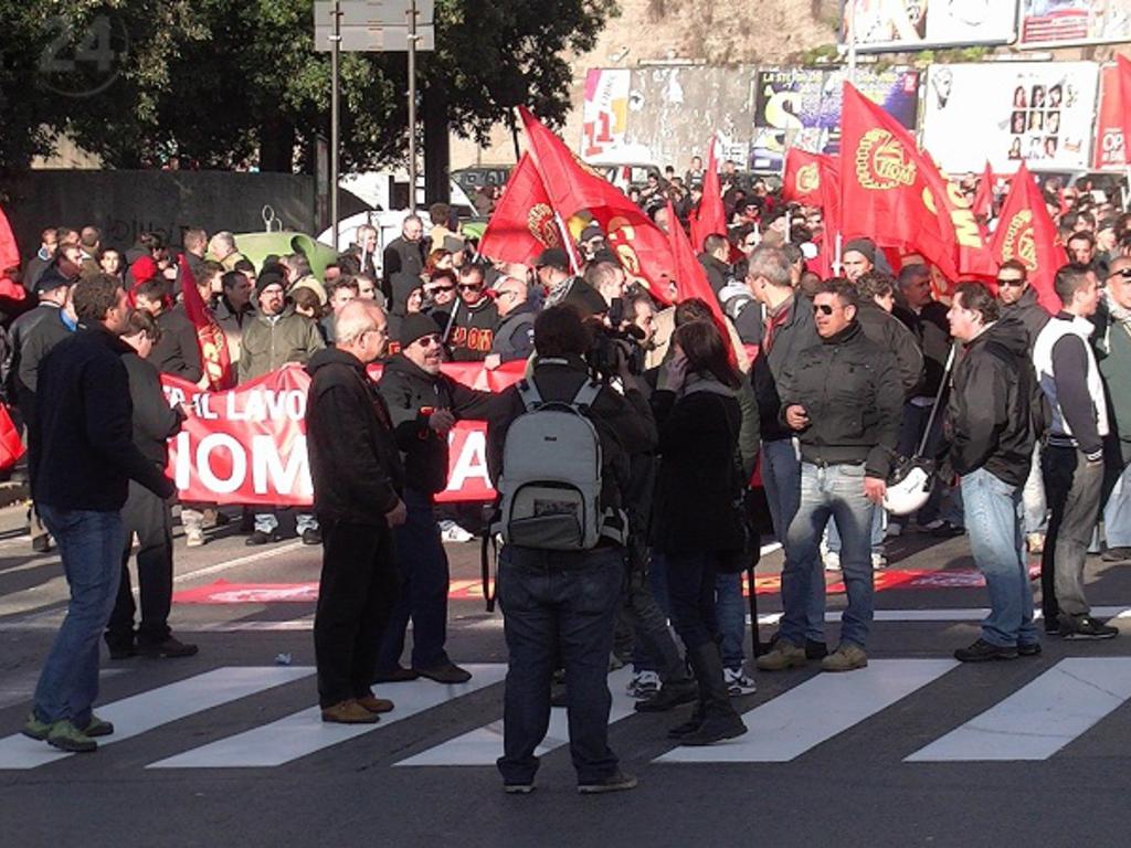 sciopero europeo genova
