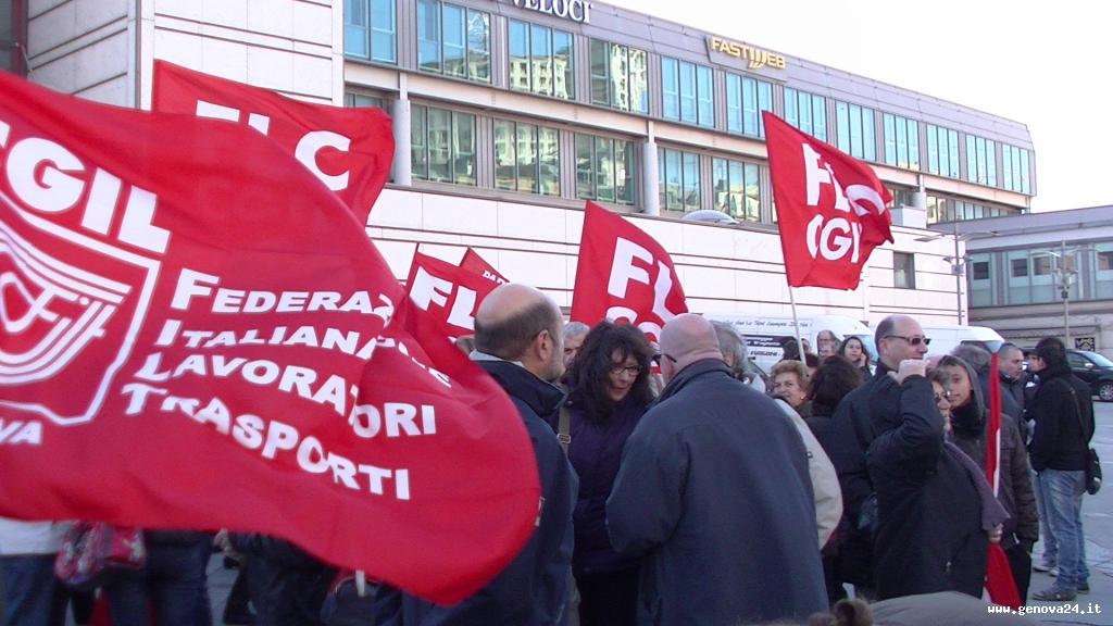 sciopero europeo genova cgil