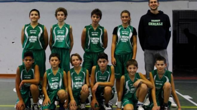 Basket Ceriale Under 13
