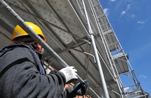 Cantiere lavori edilizia