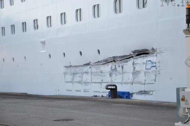 Costa Pacifica: incidente porto Marsiglia