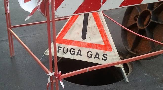 fuga gas san fruttuoso tombino