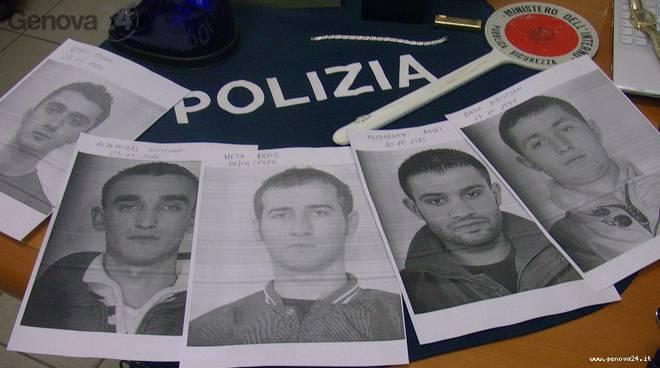 furti predoni albanesi