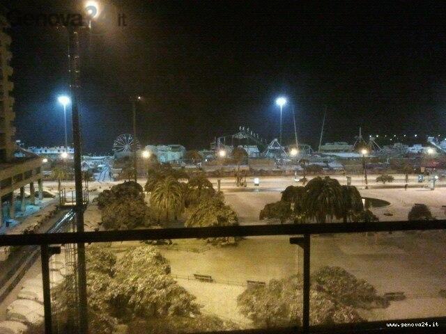 neve alla Foce 14 dicembre 2012