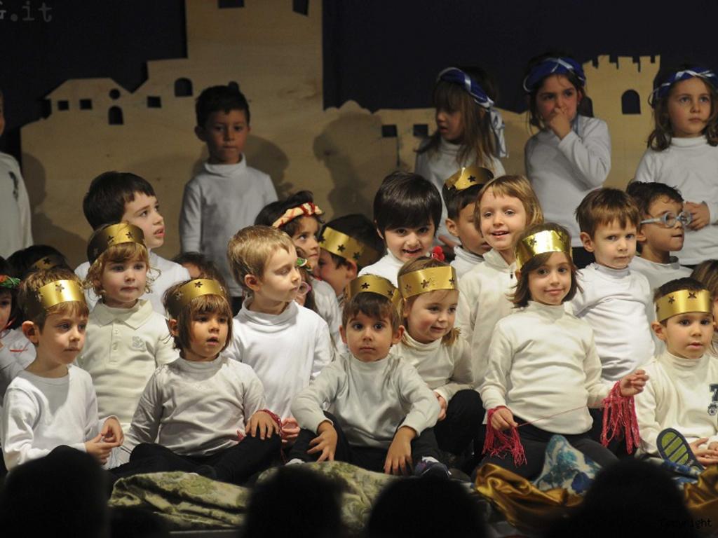 recita di Natale bimbi San Giorgio