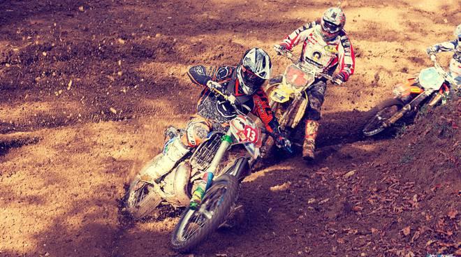 Vanni Oddera, campione di motocross