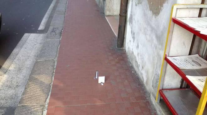 Accoltellamento via Torino - Savona