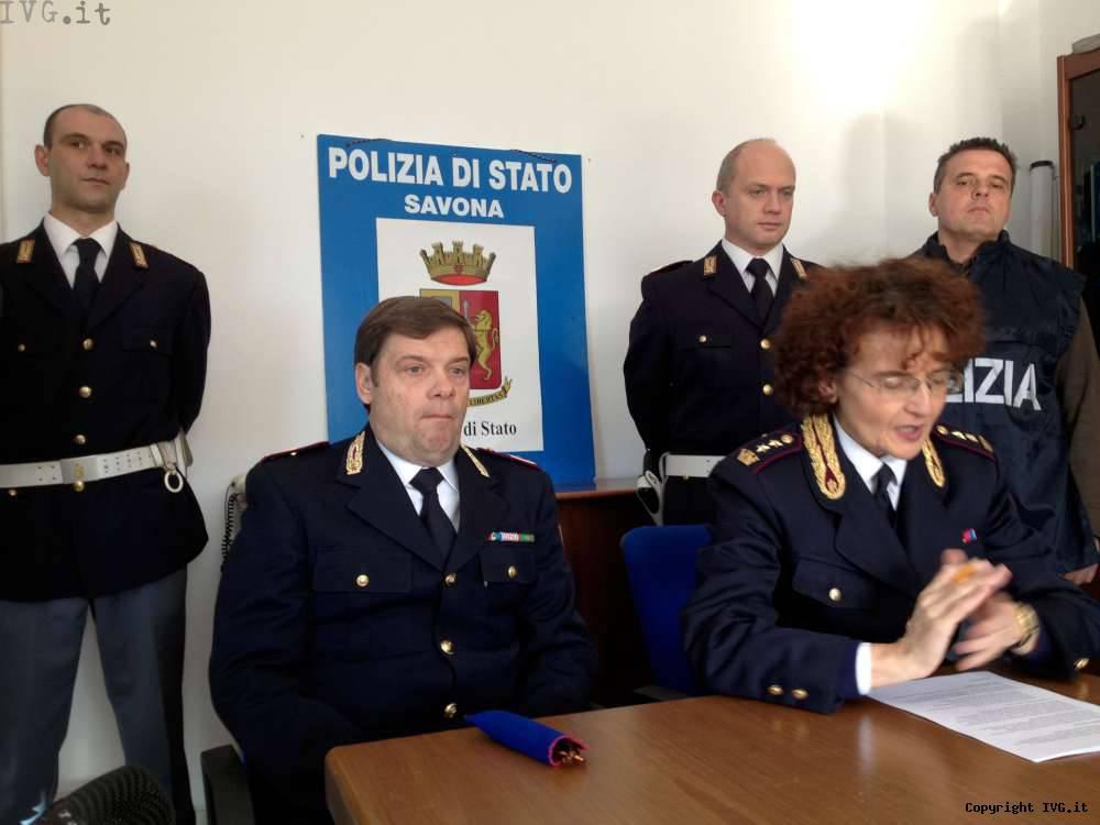 Polizia frontiera - arresto Uzzauto
