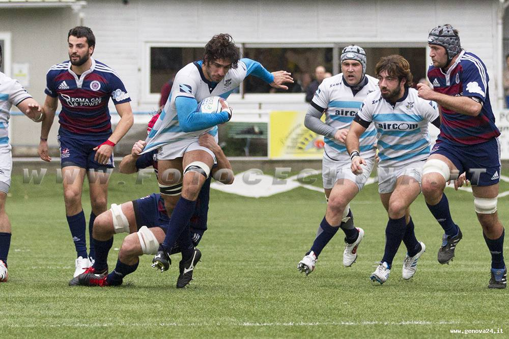 pro recco rugby foto ceschina