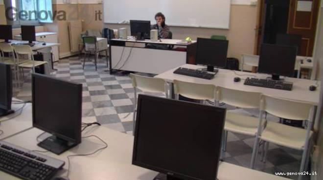 Scuola, aula informatica