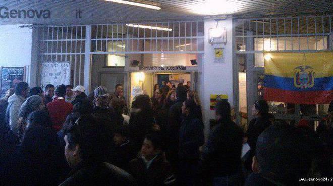 elezioni ecuador, voto a genova