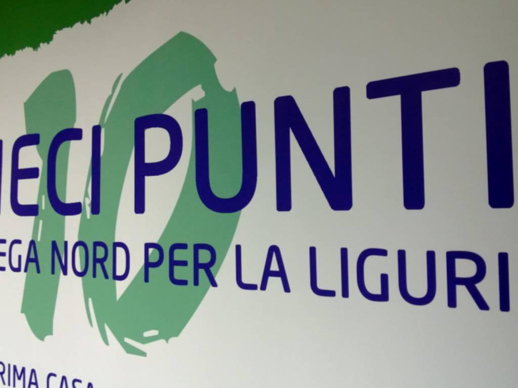 Lega Nord a Genova 2013