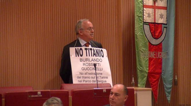 Protesta titanio in Regione