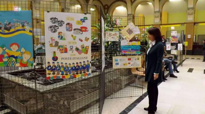 Alle Poste Centrali di Torini in mostra gli elaborati grafici dell'istituto di via degli Orti ad Albenga