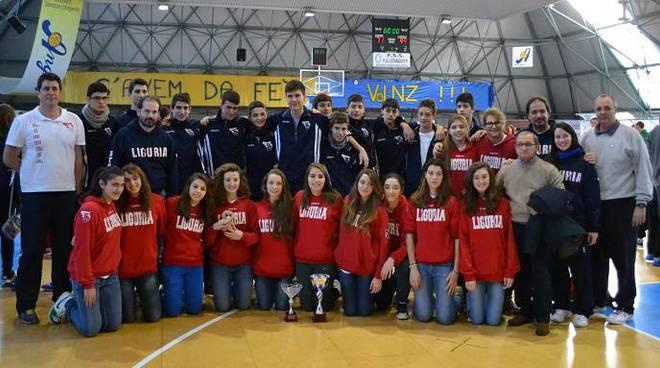 basket rappresentativa ligure