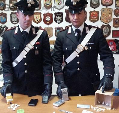 carabinieri santa, droga