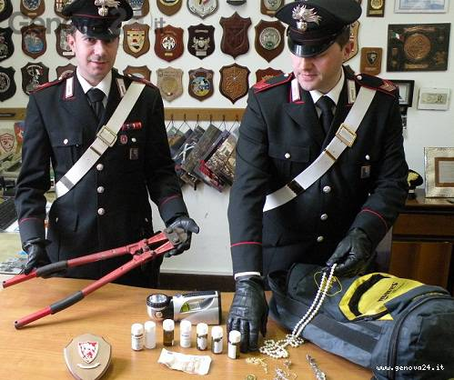 carabinieri santa e rapallo