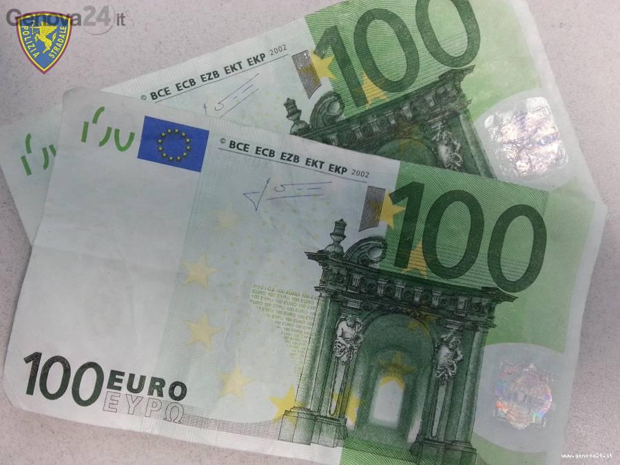 cento euro falsi banconote