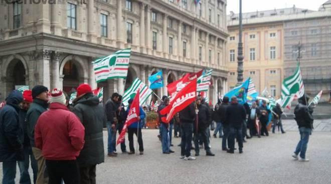 edili, sciopero e corteo