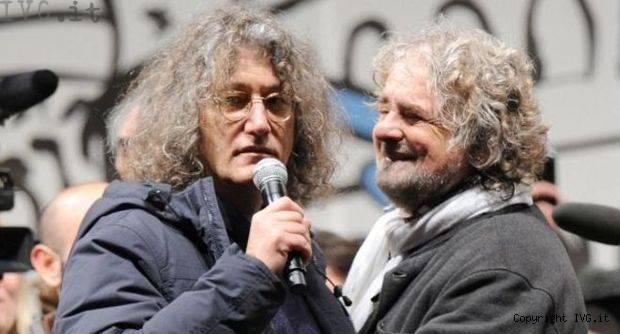 Movimento 5 Stelle, Beppe Grillo, Gianroberto Casaleggio