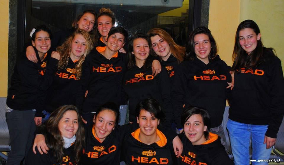 pallanuoto femminile Rapallo serie B