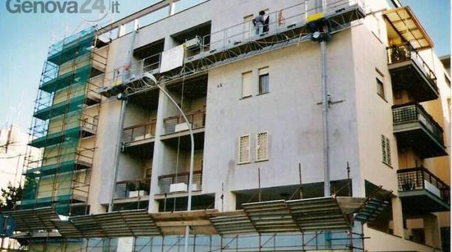 ponteggi, cantiere edile, edilizia