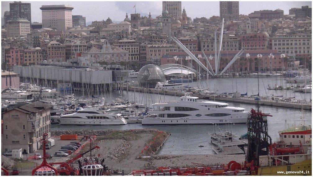 porto di Genova, porto antico bigo