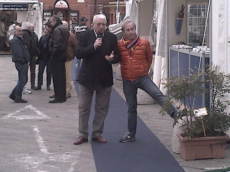 Adriano Bena e Roberto Caroti Santa Margherita Ligure Boat Show