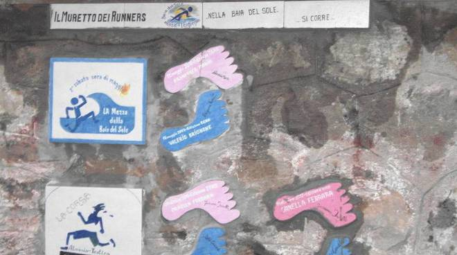 Alassio muretto dei runners