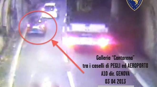 auto incidente mortale sestri ponente