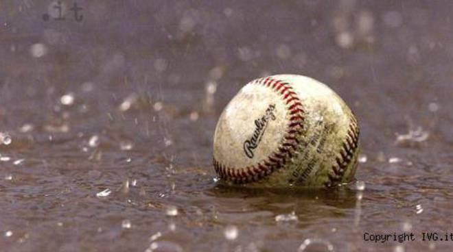 baseball pioggia