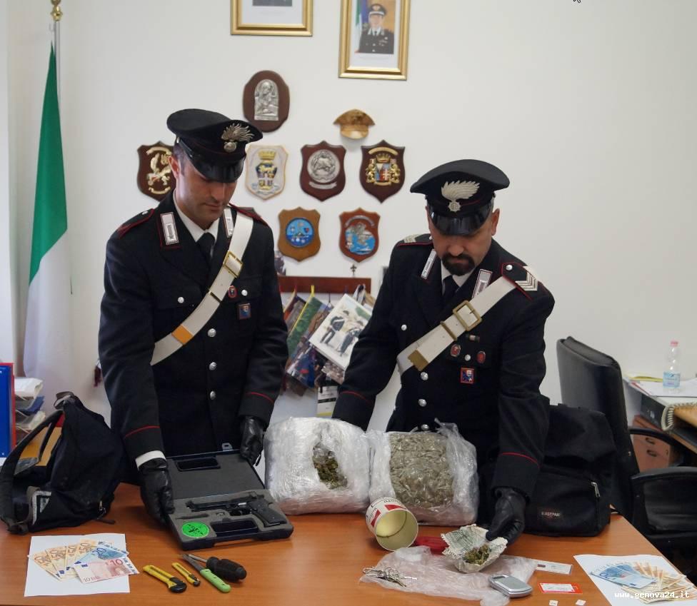 carabinieri santa margherita sequestro droga