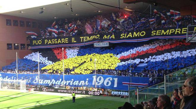 Derby 2013 sampdoria gradinata sud