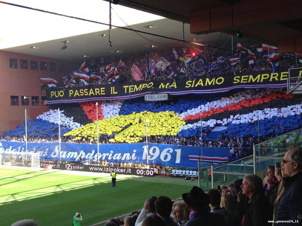 Derby 2013 sampdoria gradinata sud