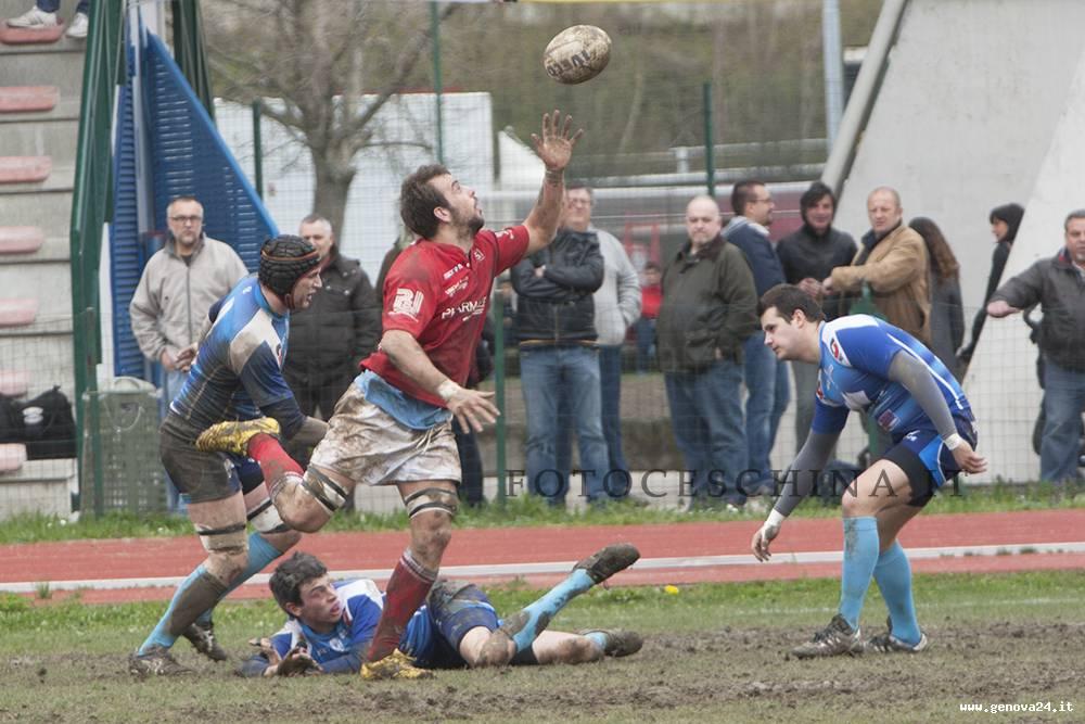 foto ceschina Cus Genova Rugby serie B