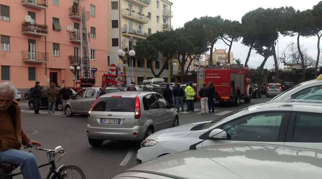 Intervento Albenga piazza stazione
