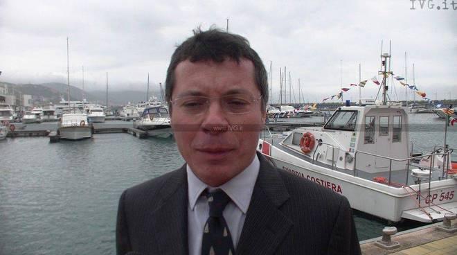 Loano - inaugurazione capitanera dentro la marina