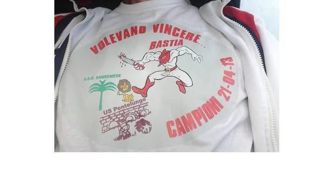 maglietta Bastia promosso