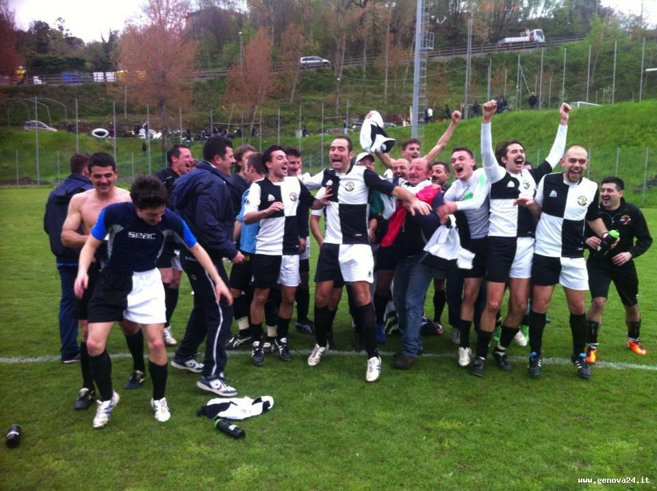 Ruentes calcio vince Seconda