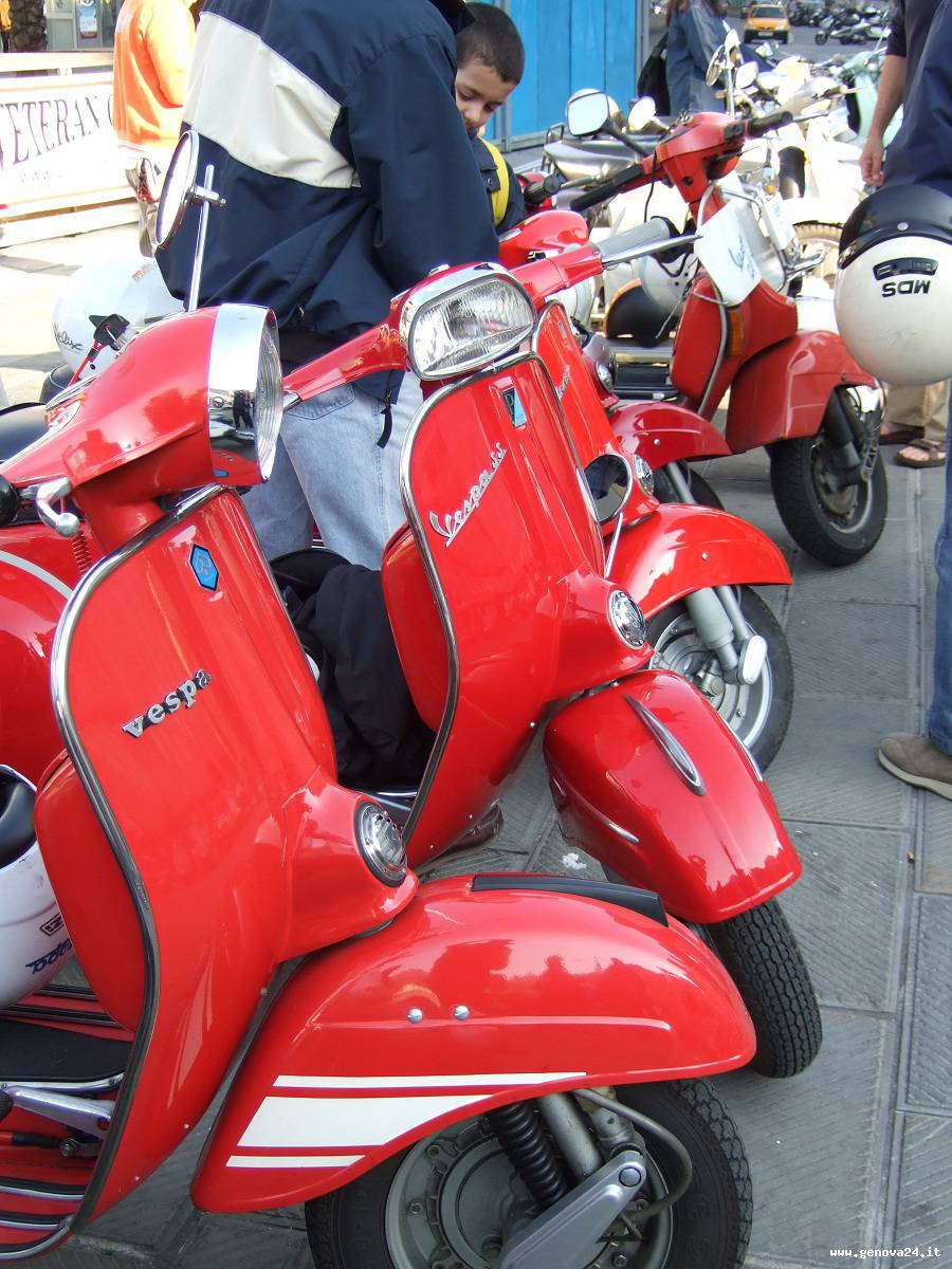 scooter in riviera